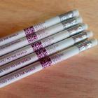 Lápis Personalizados Madeira Natural Reflorestada