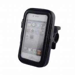 Suporte Case para bicicleta e moto. Super fixação, protege contra chuva e com presilha ajustável em 360º