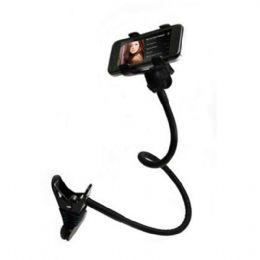 Suporte para celular SUP10 Cores: preto, branco, vermelho, amarelo e azul  Suporte universal articulável flexível com Garras para celulares. Bom para...