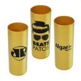 Copo long drink personalizado | Fantastic Brindes Material: Plástico PS cristal. Capacidade: 330 ml. Medidas: 6 cm de diâmetro (boca), 5,8 cm de diâme...