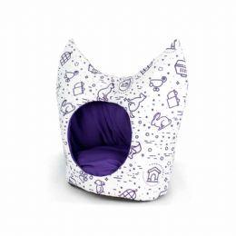 A Cama de Gato Toca King apresenta um estilo sem igual que se destaca entre os demais. Seu Pet agora pode dormir como um rei.