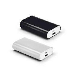 PowerBank 97378 Alumínio. Bateria de lítio. Capacidade: 4.400 mAh. Tempo de vida ≥ 500 ciclos. Com entrada/saída 5V/1A. Incluso cabo USB/micro-U...
