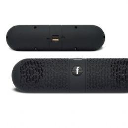 Caixa de som com conexão Bluetooth sem fio com alto falante áudio-in, entradas para USB e Micro SD, cabo de carregamento USB, conexão rápida a disposi...