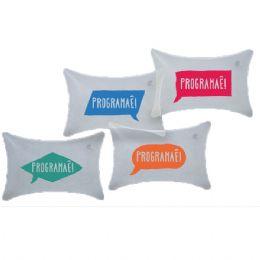 Travesseiro inflável em PVC
