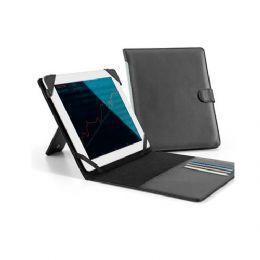 Pasta personalizada para tablet. em couro sintético e personalização da logomarca em baixo relevo. é o brinde ideal para presentear clientes e colabor...