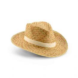 Chapéu Panamá. Palha natural. Fita não inclusa. Tamanho: 580 mm