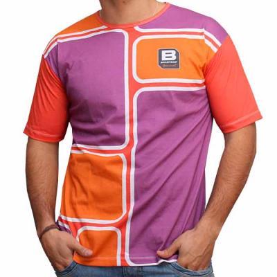 Camiseta Express - Camiseta Careca, 100% Poliéster com impressão por Sublimação
