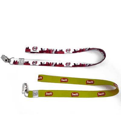MT Brindes - Cordão para crachá personalizado, diversos tamanho e espessuras, gravação digital e em silk screen, cordão para crachá com Trava de Segurança,