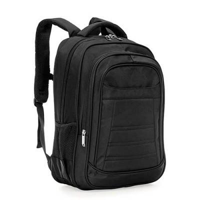MT Brindes - Mochila de alta confecção em poliéster com detalhes em nylon. Com amplo espaço, possui compartimento grande bom bolso para notebook, compartimento med...