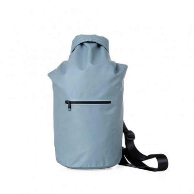 MT Brindes - Mochila saco 10 litros à prova d´água. Material confeccionado em lona, possui costura soldada resistente, lacre dobrável, alça ajustável para costa(re...