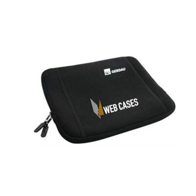 Ato Produtos - Capa para notebook de 15 polegadas em neoprene com bolso externo e zíper.