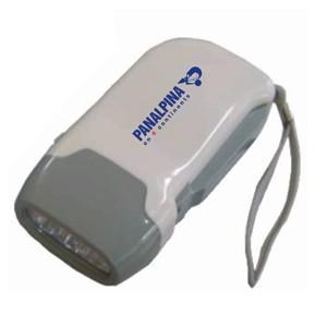 Ato Produtos Promocionais - Lanterna ecológica com gravação personalizada e que não utiliza pilhas.