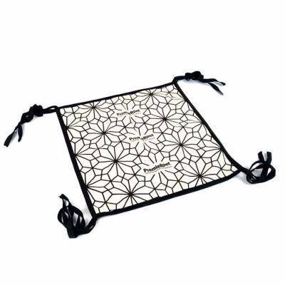 Ato Produtos Promocionais - Rede de gato confeccionado em lona.  Borneon no acabamento.  Personalização em silk screen.  36cm (L) x 36cm (A)