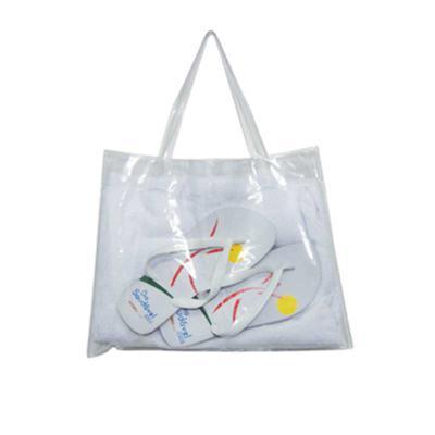 Ato Produtos Promocionais - Sacola em PVC cristal.