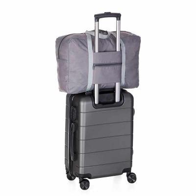 MatBrindes - Bolsa de viagem dobrável para encaixar na alça da mala