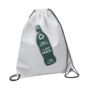 matbrindes - Mochila Ecológica personalizada. Produzida em lona pet é super prática e utilizada. Tamanho 35x40cm ou solicite o seu tamanho de preferêcia.