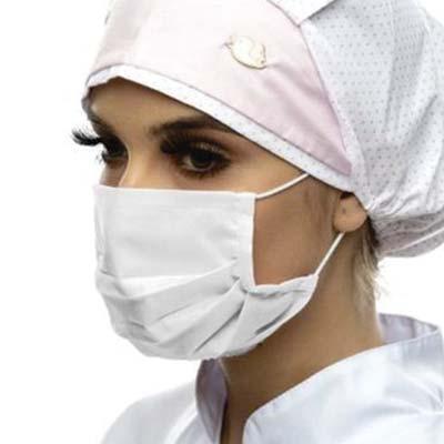 MatBrindes - Máscara de proteção personalizada. Proteja sua equipe e colaboradores. Máscara lavável de proteção contra covid-19. Tecido tricoline 100% algodão ou T...