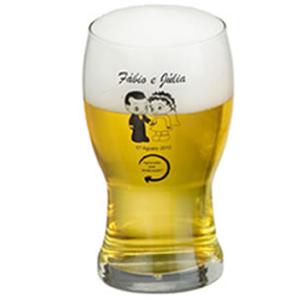 print-maker - Copo de vidro para cerveja modelo Frevo.