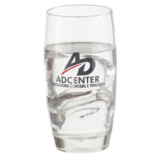 print-maker - Copo de vidro para água modelo PM Oca 400 ml.