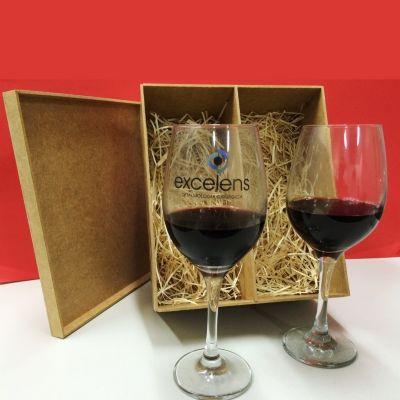 print-maker - Kit taças para vinho personalizada.
