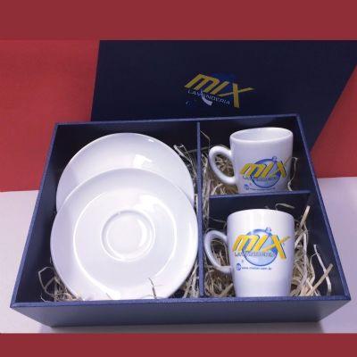print-maker - Kit de xícaras com personalização.