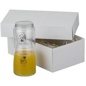 Print Maker - Kit com Moringa de e copo de vidro, capacidade 500 ml.