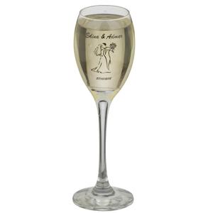 print-maker - Taça de vidro para espumante, PM Celebra, capacidade 190 ml.