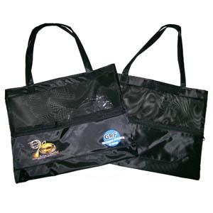 CZK brindes - Bolsa sacola feminina personalizada com redinha. Sua marca presente no dia a dia dos clientes.