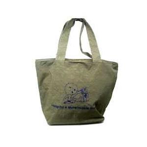 CZK brindes - Bolsa / sacola maternidade personalizada em nylon estonado.