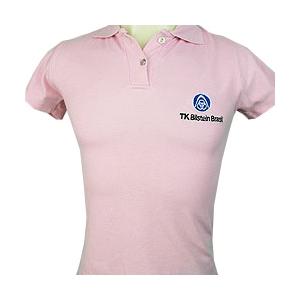 8419fae2c CZK brindes - Camiseta   Blusinha Pólo Feminina Personalizada.