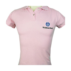 CZK brindes - Camiseta / Blusinha Pólo Feminina Personalizada.