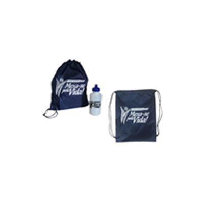 CZK brindes - Kit esportivo personalizado com toalha e squeeze.