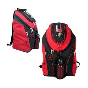CZK brindes - Mochila de costas personalizada com compartimento para Lap Top.
