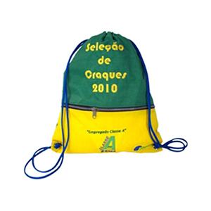 CZK brindes - Saco mochila personalizado