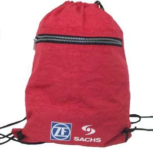 CZK brindes - Saco mochila personalizado em nylon estonado.