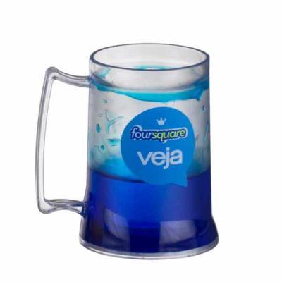 Comercial Sister's - Caneca de Chopp com Gel 400 ml