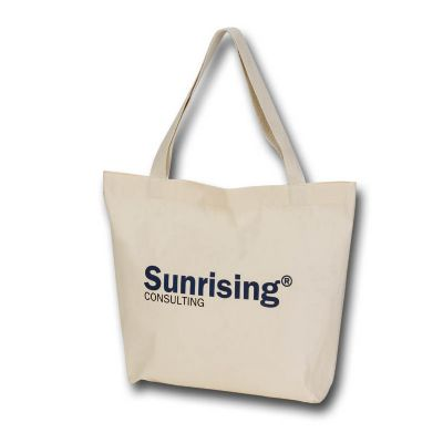 Embalagem - Sacola em algodão cru tamanho 30 x 40 com impressão em uma cor de um lado.  Promoção :  Na compra de 1000 - 7,20 cada