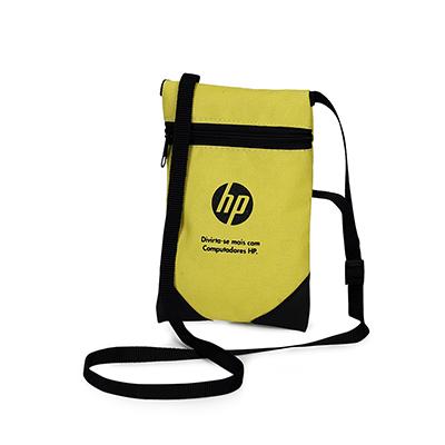 Embalagem - Bolsinha porta documentos e celular.