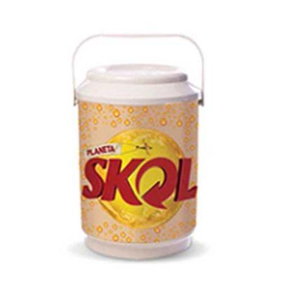 A.C.O. Brindes - Coolers com capacidade de 10latas, produzido em polipropileno (PP)com parede dupla, usado para conservar a bebida gelada por muito mais tempo, coma...