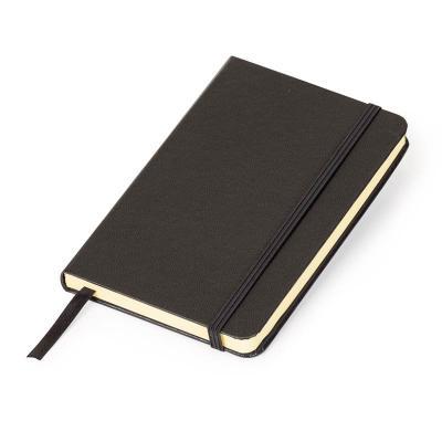Marca Laser - Caderneta MLSK de anotações com capa rígida na cor preta