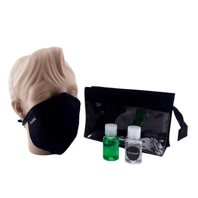 Marca Laser - Kit Higiene com Máscara e Álcool em gel