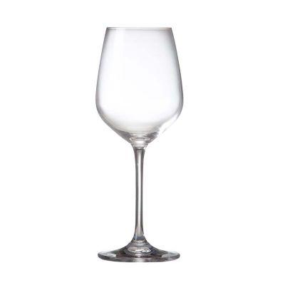 Marca Laser - Taça de vidro personalizada para vinho 380 ml (a granel).