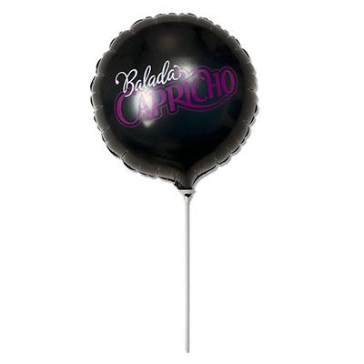 """Universo dos Balões - Balão metalizado 20"""", impressão nos dois lados a 2 cores"""