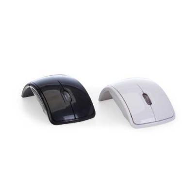 Skill Brindes Promocionais - Mouse óptico de tecnologia wireless e retrátil. Mouse anatômico de material plástico resistente, possui rolamento plástico translúcido, laterais textu...