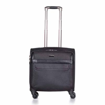Skill Brindes Promocionais - Mala de viagem com cadeado TSA. Confeccionada em nylon de alta qualidade, possui alça de mão, puxador retrátil com estágios para regulagem e botão aci...