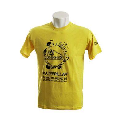 Skill Brindes Promocionais - Camiseta gola careca , fio 30.1/100% algodão, manga curta, diversas cores malhas