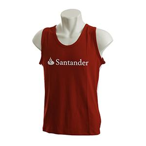 Skill Brindes Promocionais - Camiseta regata vermelha, modelo excelente para praia, club ou laser no verão