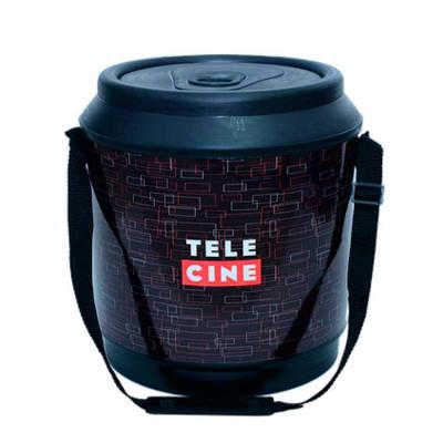 Skill Brindes Promocionais - Cooler produzido em PP parede dupla com capacidade para 24 latas  Dimensões: 390 mm de altura x 365 mm de diâmetro  Transporte: alça em nylon  Persona...