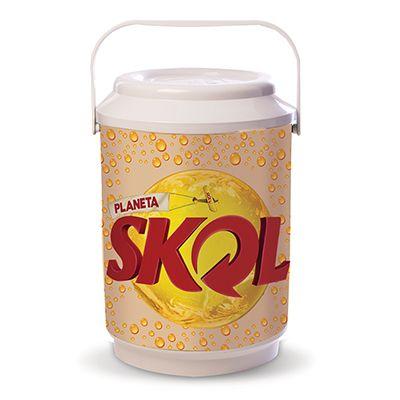 Skill Brindes Promocionais - Cooler Premium com capacidade para 6 latas