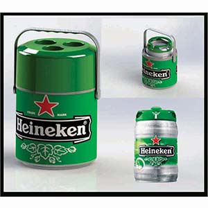 Skill Brindes Promocionais - Cooler térmico - capacidade 5 latas ou barril 5 litros